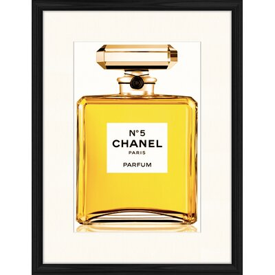 LivCorday Chanel No 5 - 1 Framed Graphic Art