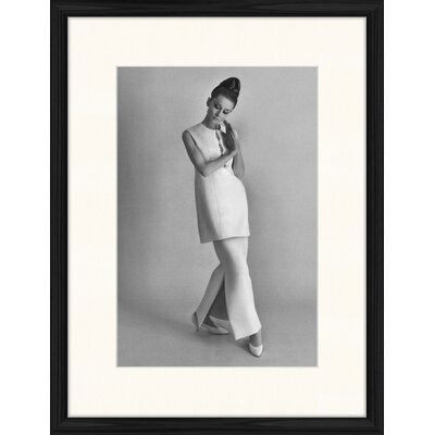 LivCorday Audrey Standing 2 Framed Photographic Print