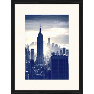 LivCorday Empire State Building View 2 Framed Photographic Print