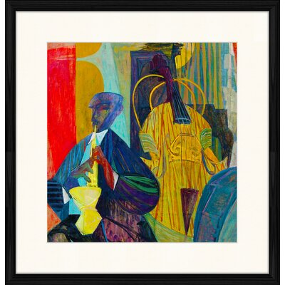 LivCorday Jazz Compostion 6 Framed Art Print