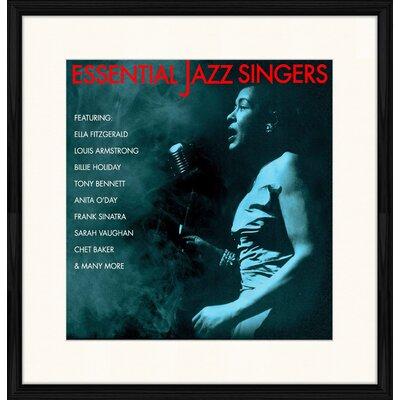 LivCorday Jazz Singers Framed Vintage Advertisement