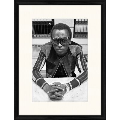 LivCorday Don Hustein - Miles Davis Framed Photographic Print
