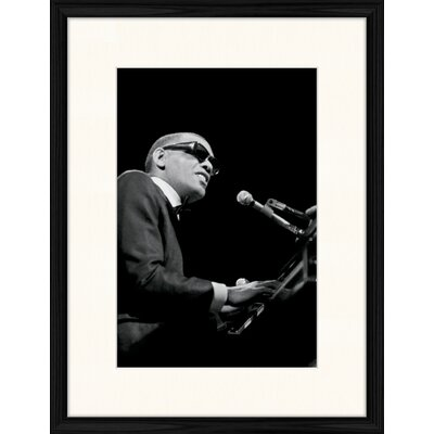 LivCorday Ray Charles Framed Photographic Print
