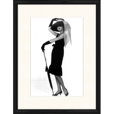 LivCorday Audrey Standing 1 Framed Photographic Print