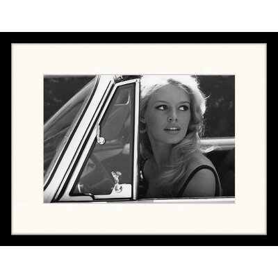 LivCorday Brigitte Bardot 2 Framed Photographic Print