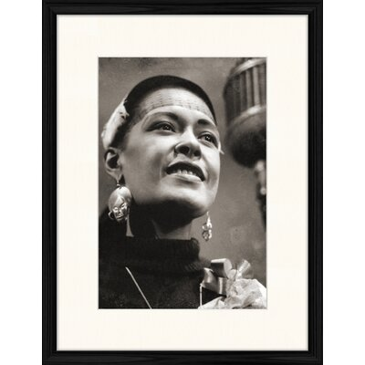 LivCorday Billie Holiday - The Centennial Collection Framed Photographic Print