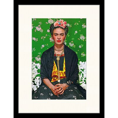 LivCorday Frida Kahlo' by Nickolas Muray Framed Art Print