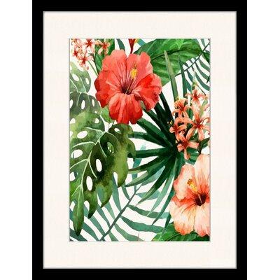 LivCorday Floral Illustration 1 Framed Graphic Art