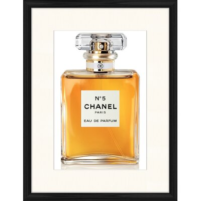 LivCorday Chanel No 5 - 3 Framed Graphic Art