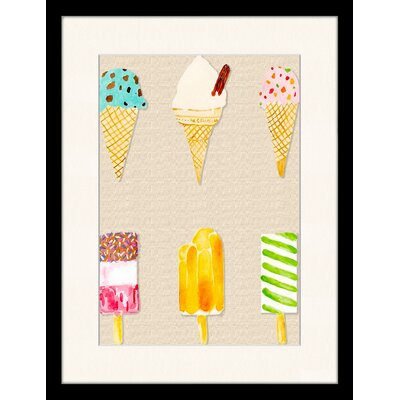 LivCorday Cold Flavours 2 Framed Graphic Art