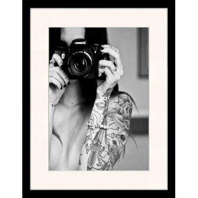 LivCorday Tattoo Photographer Framed Photographic Print