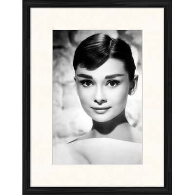 LivCorday Audrey Portrait No 1 Framed Photographic Print