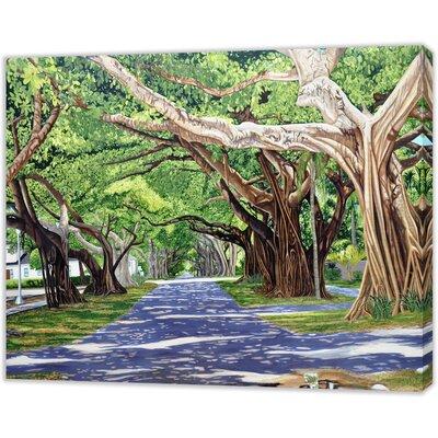 LivCorday Miami Beach 2 Art Print Wrapped on Canvas
