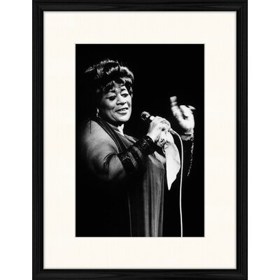 LivCorday Ella Fitzgerald Framed Photographic Print