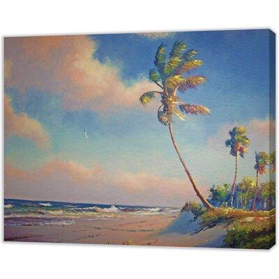LivCorday Miami Beach 1 Art Print Wrapped on Canvas