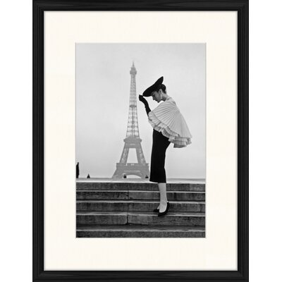 LivCorday Paris Steps 1 Framed Photographic Print