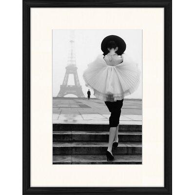 LivCorday Paris Steps 2 Framed Photographic Print