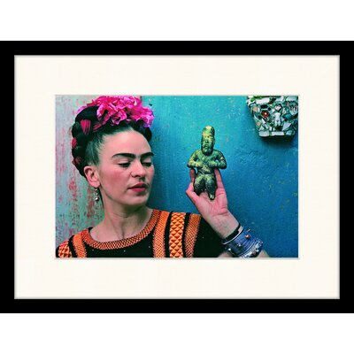 LivCorday 'Frida Kahlo' by The Lens of Nickolas Muray Framed Photographic Print