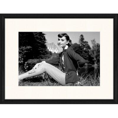 LivCorday Audrey Portrait No 6 Framed Photographic Print