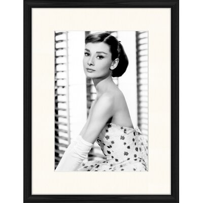 LivCorday Audrey Portrait No 2 Framed Photographic Print