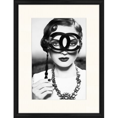 LivCorday Chanel Icon 1 Framed Photographic Print