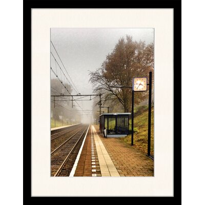 LivCorday Train Station, The Netherlands Framed Photographic Print