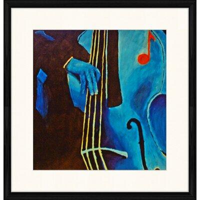 LivCorday Jazz Compostion 5 Framed Art Print