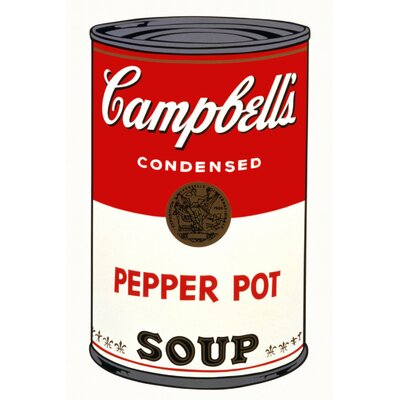 LivCorday Andy's Famous Campbells Soup Vintage Advertisement Wrapped on Canvas