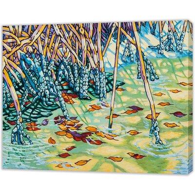LivCorday Miami Nature Scene 1 Art Print Wrapped on Canvas