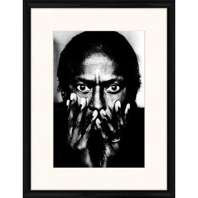 LivCorday Miles Davis Framed Photographic Print