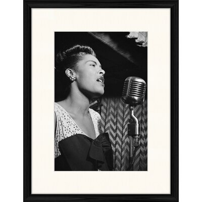 LivCorday Billie Holiday - Strange Fruit Framed Photographic Print