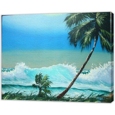 LivCorday Miami Beach 3 Art Print Wrapped on Canvas