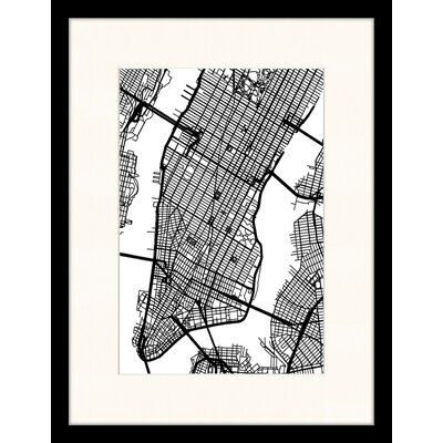 LivCorday Manhattan Framed Graphic Art