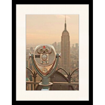 LivCorday View of The Empire State Building, NY Framed Photographic Print