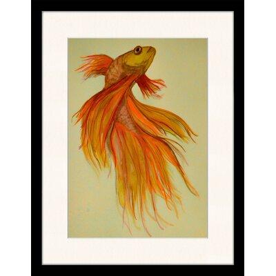 LivCorday Exotic Fish Framed Art Print