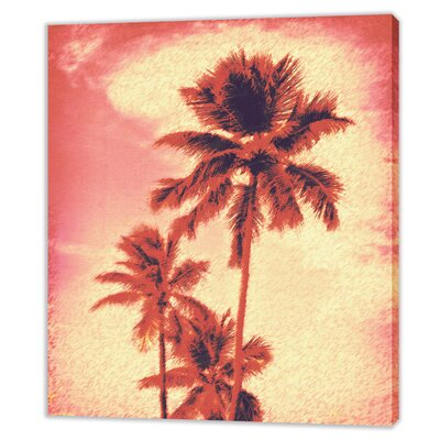 LivCorday Palm Illustration 1 Art Print Wrapped on Canvas