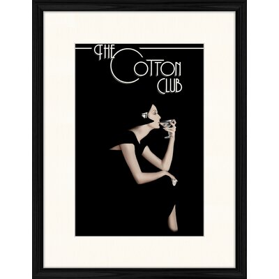 LivCorday Famous Cotton Club Framed Vintage Advertisement
