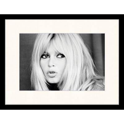 LivCorday Bridget Bardot 1 Framed Photographic Print