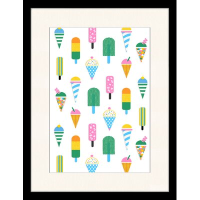 LivCorday Cold Flavours 1 Framed Graphic Art