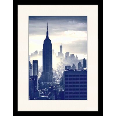 LivCorday View of The Empire State Building, NY 2 Framed Photographic Print