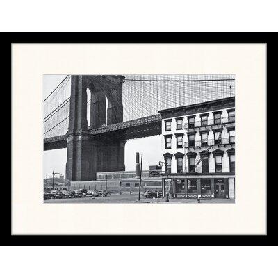 LivCorday Brooklyn Bridge Framed Photographic Print
