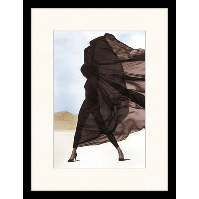 LivCorday 'Versace' by Herb Ritts Framed Graphic Art