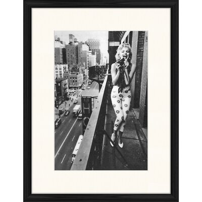 LivCorday Marilyn at the Westbury Hotel 3 Framed Photographic Print