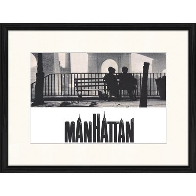 LivCorday Manhattan Movie Framed Vintage Advertisement