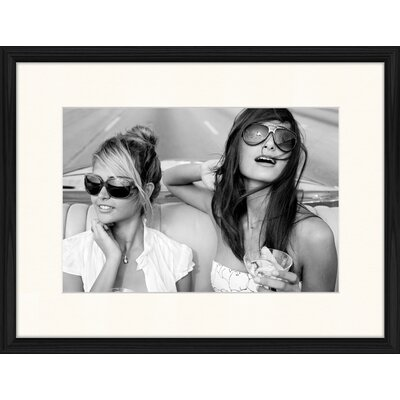LivCorday Californian Girls Framed Photographic Print