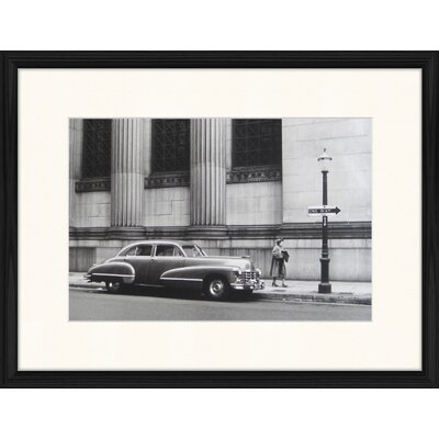 LivCorday Street in the 40's Framed Photographic Print