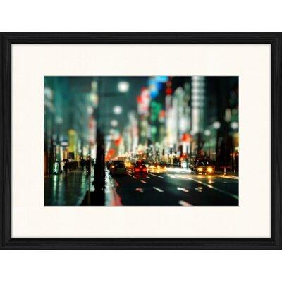 LivCorday East Coast Boulevard Framed Photographic Print