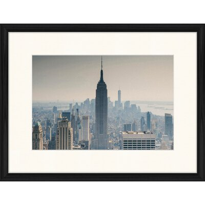 LivCorday Empire State Building View 4 Framed Photographic Print