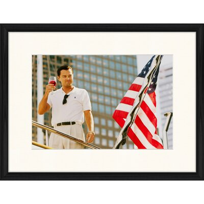 LivCorday Wolf of Wall Street Framed Photographic Print