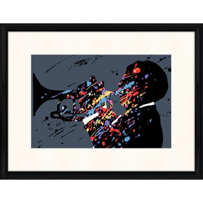 LivCorday Jazz Compostion 12 Framed Graphic Art